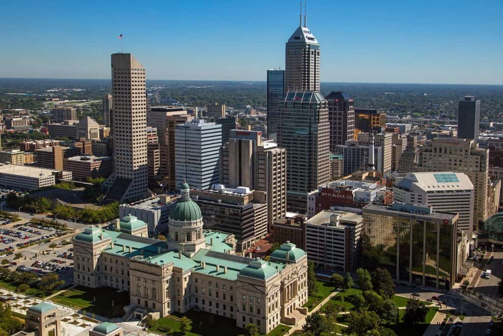 Indianapolis, IN is a prime example of a secondary real estate market that is performing well.
