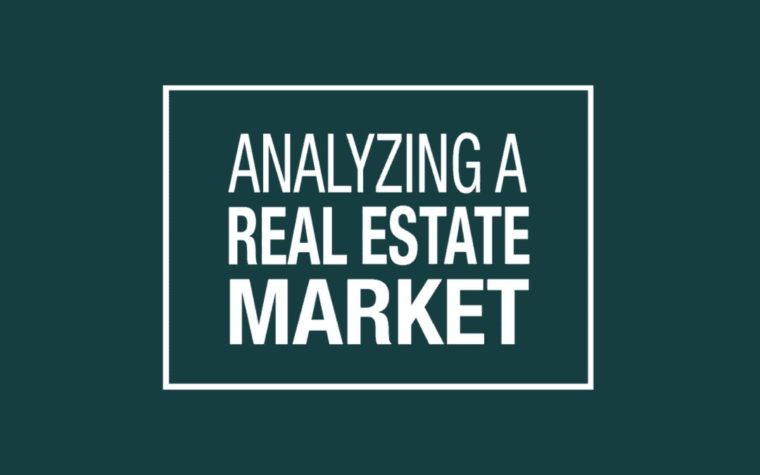 Analyzing a Real Estate Market